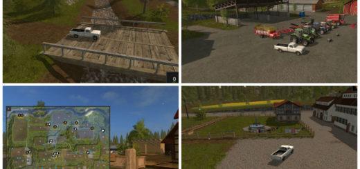 Мод карта Hagenstedt для Farming Simulator 2017