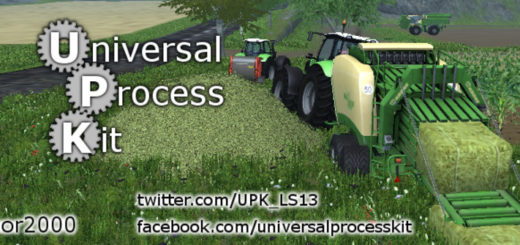 Мод Universal Process Kit v 17.0.6 Farming Simulator 17