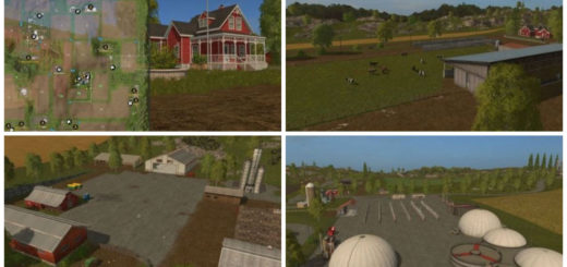 Мод карта Westbridge Hills v 1.2.0.7 Farming Simulator 17