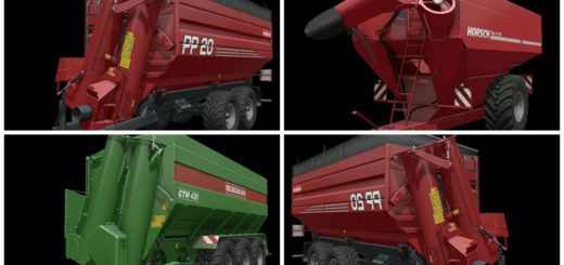 Мод Auger Wagon Modpack v 1.0 Farming Simulator 17