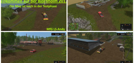 Мод карта BORNHOLM 2017 v1.0 Farming Simulator 2017
