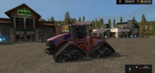 Мод трактор Case IH Quadtrac 620 with color choice v 1.0 Farming Simulator 2017