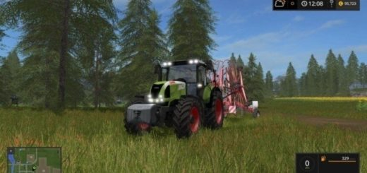 Мод трактор CLAAS ARION 620 Cebis v 1.1 Farming Simulator 17