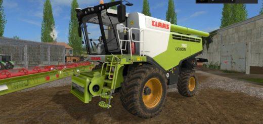 Мод комбайн Claas Lexion 780 v 1.0 Farming Simulator 17