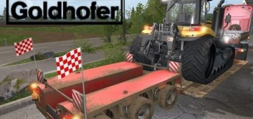 Мод Goldhofer StzVp3 Lowboy v 1.0 Farming Simulator 17