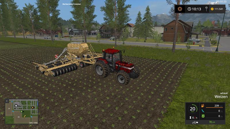 Мод сеялка Horsch Pronto 9m v 1.0 Farming Simulator 2017