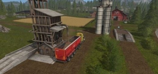 Мод хранилище WoodChip Storage v 1.0 Farming Simulator 17