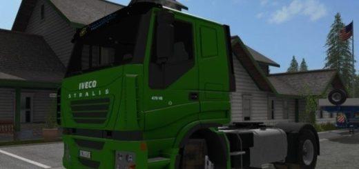 Мод Iveco Stralis LowCab v 1.2.2 Farming Simulator 17