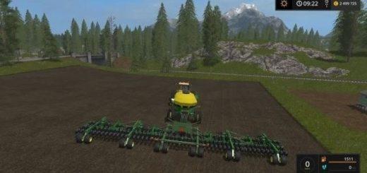 Мод сеялка John Deere 1890/1910 v 1.0 Farming Simulator 17