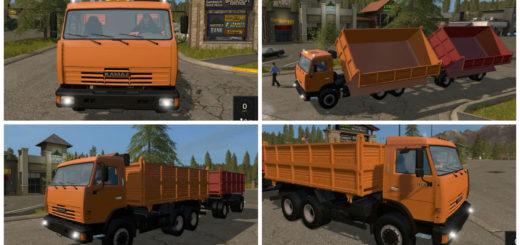 Мод грузовик КАМАЗ 45143 Фермер Симулятор 2017