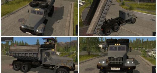 Мод грузовик КрАЗ 256Б1 Фермер Симулятор 2017