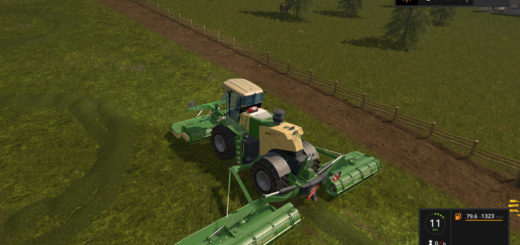 Мод KRONE BIGM500 V 2.2 Farming Simulator 17