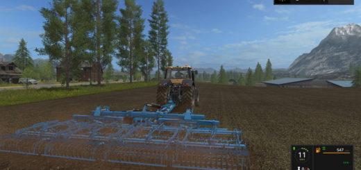 Мод сцепка Lemken Carriersystem Gigant series v 1.2 Farming Simulator 2017