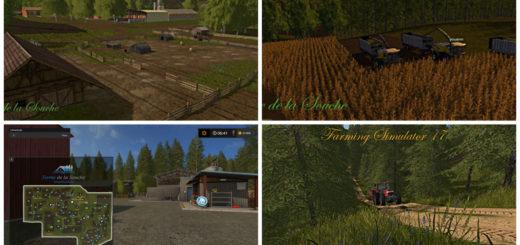 Мод карта La Vieille Souche Farming Simulator 17