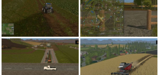 Мод карта Somewhere in Thuringia v 1.0.1.2 Farming Simulator 17