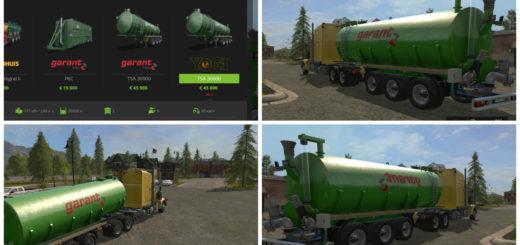 Мод бочка для молока Kotte Garant Farming Simulator 2017