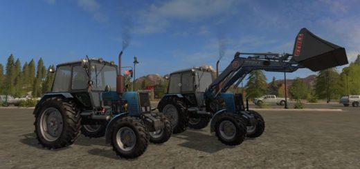 Мод трактор МТЗ MTZ 1025 v 1.1 Фермер Симулятор 2017