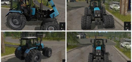 Мод трактор МТЗ 1221 Фермер Симулятор 2017