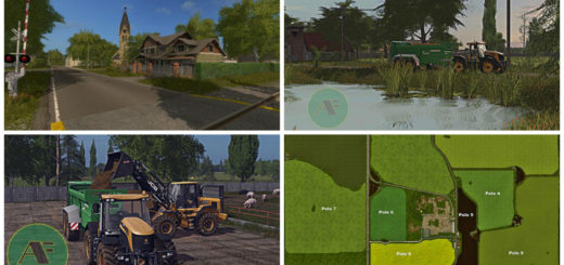 Мод карта POLISH AGROFARM V0.75 Farming Simulator 2017