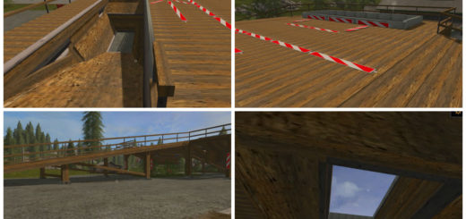 Мод рампа DOUBLE RAMP FOR BEAST CHIPPER V1.0.0.0 Farming Simulator 2017