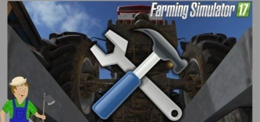 Мод Ремонт Техники Repair Vehicles v 1.31 Farming Simulator 17