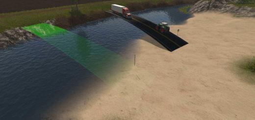 Мод мост Bridge Farming Simulator 17