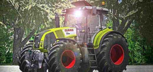 Мод трактора Claas Axion 850 Pack Farming Simulator 2017