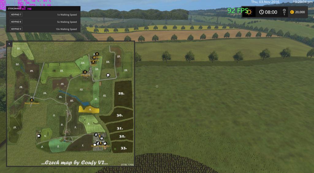 мод карта симулятор 2017