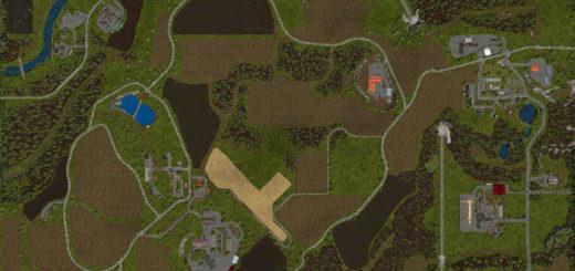 Мод карта Irgendwo in Thueringen V1.0.3.0 RUS Farming Simulator 17