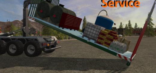 Мод IT RUNNER SERVICE AUFBAU v1.0 Farming Simulator 17