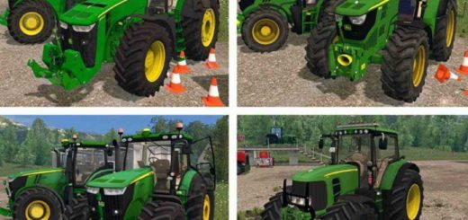 Мод ПАК John Deere Pack v1.0 Farming Simulator 2017