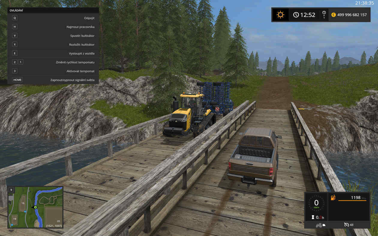 Мод Wooden Bridge Farming Simulator 2017