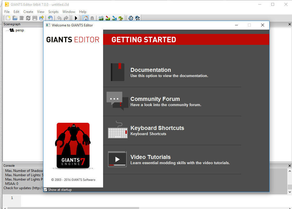 GIANTS EDITOR V 7.0.3 64 BIT Farming Simulator 17