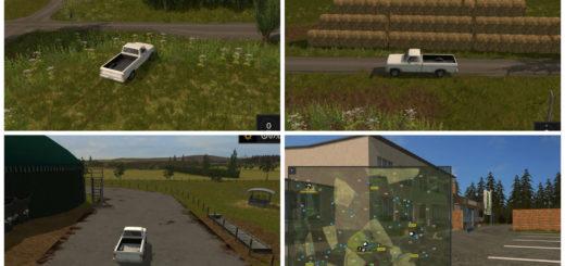 Мод карта Sued Thueringen Farming Simulator 17