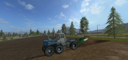 Мод трактор Т-150 Prototypе v 1.0 Фермер Симулятор 2017