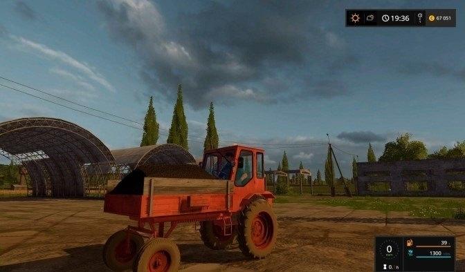 Мод трактор Т-16М Фермер Симулятор 2017
