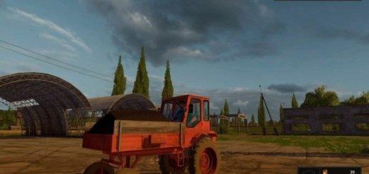 Мод трактор Т-16М Фарминг Симулятор 2017