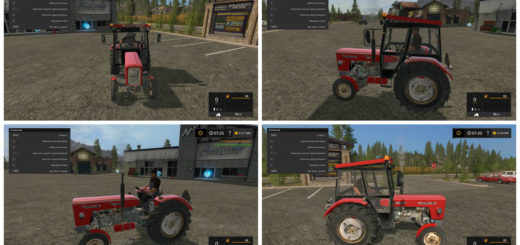 Мод трактор Ursus c360 Farming Simulator 17