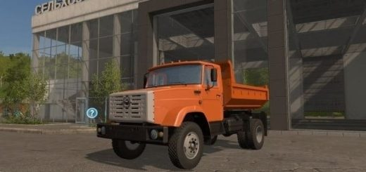 Мод грузовик Зил 45085 v 1.0 Фермер Симулятор 2017