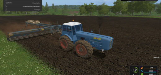 Мод 8m Seeder v 1.0 Farming Simulator 2017