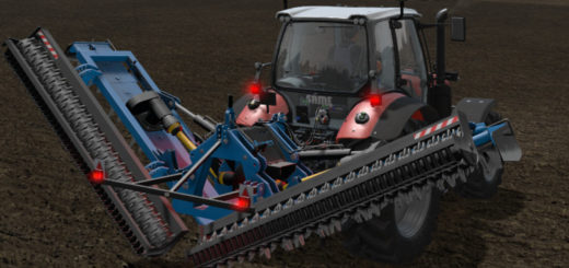 Мод культиватор ADLER ERS 6000 SICMA v 1.0.1 Farming Simulator 17