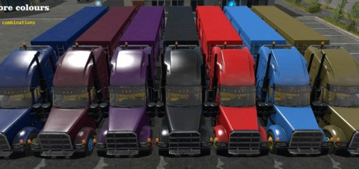 Мод American Truck Pack v 1.0 Farming Simulator 2017