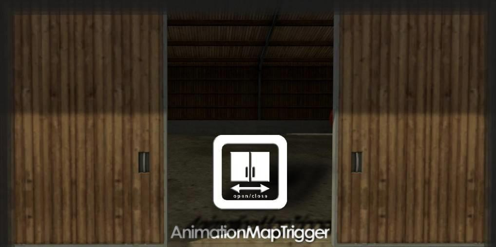 Мод скрипт Animation Map Trigger v 1.1 Farming Simulator 2017