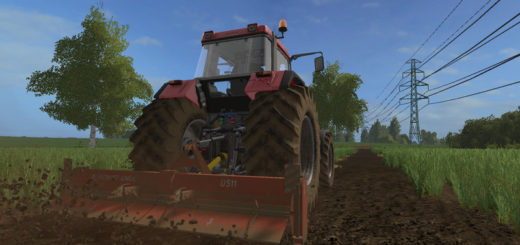 Мод культиватор Agromet-Unia U511 v 1.0 Farming Simulator 2017