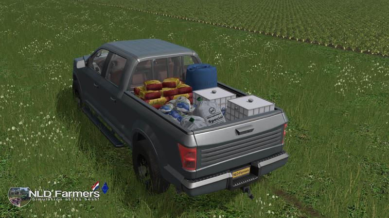 Мод авто Service Pickup v 1.5 Farming Simulator 17