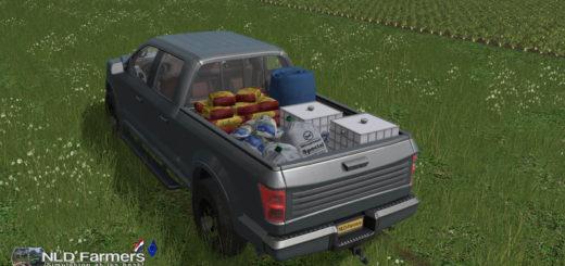 Мод авто Service Pickup v 1.4 Farming Simulator 2017