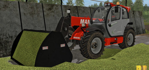 Мод ковш Beiser telehandler schovel v 1.0 Farming Simulator 2017