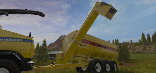 Мод прицеп Bergmann GTW 430 v 1.0 Farming Simulator 2017