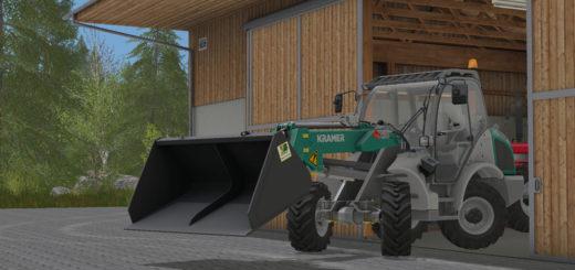 Мод ковш Bressel and Lade 201a v 1.1 Farming Simulator 2017
