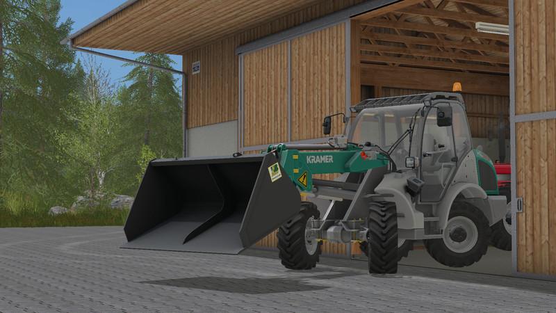 скачать моды для Farming Simulator 2017 ковши - фото 9